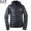 エンポリオアルマーニ EA7 EMPORIO ARMANI ダウンジャケット ブルゾン メンズ アウター 8NPB02 PN29Z ブラック