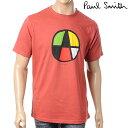 PAUL SMITH【ポールスミス】メンズ半袖Tシャツ/クルーネック/レッド/JMRJ 473M P8506