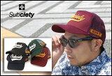 SUBCIETY サブサエティ 【5カラー】MESH CAP-GLORIOUS-(サブサエティ)メッシュキャップ/【SUBCIETY(サブサエティ)】