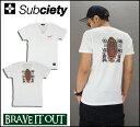 Subciety サブサエティ V NECK TEE S/S Guadalupe Tシャツ Vネック