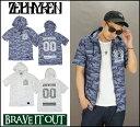 ZEPHYREN ゼファレン HOOD SHIRTS S/S -SPADE- フードシャツ