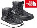 THE NORTHFACE ザ ノースフェイス Apres Lace NF51881 Bootie ユニセックス アプレレース ブーツ ブーティー 靴 防水 メンズ 黒 BLACK タウン town おしゃれ 冬靴 アウトドア 25cm 26cm 27cm