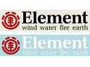 ELEMENT エレメント 日本正規品 ステッカー デカール シール E00-S23 スケートボード スケボー メール便対応