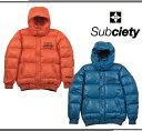 SUBCIETY サブサエティ ダウンジャケット フェザー ジャケット アウター SBF528 DOWN JKT S M オレンジ ブルー オーリー サムライ SAMURAI OLLIE ストリート スト系