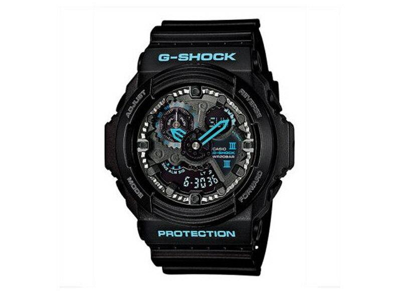 【G-SHOCK/GA-300BA-1AJF】ブラック×ブルー シリーズ 腕時計 CASIO カシオ 【送料無料※一部除く】【国内正規品】【保証付】【CASIO/カシオ/G-AHOCK】