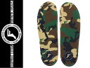 【FOOTPRINT INSOLES/フットプリント インソール】 【FPインソール FP INSOLE KING FORM ORTHOTIC】 子供 キッズ 女性サイズ有り CAMO ..