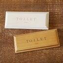 Bアウトレット トイレ ドアプレート TOILET /サインプレート/室名プレート/木製/男前/西海岸/ブルックリン