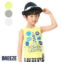 【SEC1806】3色3柄タンクトップ ▽▽ 男の子 BREEZE ブリーズ 子供服 キッズ ベビー タ