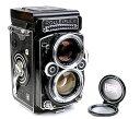 rolleiflex/ローライ 2.8F二眼レフカメラplanar 80/2.8レンズ付き 圧縮ガラス付き Telos版#33393