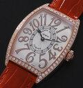 フランク ミュラー 2852 QZ REL D 1R K18PG ダイヤモンド クォーツ 腕時計