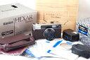 【美品】Konica/コニカ hexar 35mm F2レンズ付き Rhodium/ロジウム版 箱付き#jp20637#HK8797