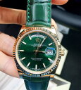 手錶 - 【全新】ROLEX/ロレックス デイデイトシリーズ118138-L(FC)グリーン腕時計 #HKRX01