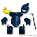 レゴ カスタムパーツ 爆発物処理班セット Dark Blue / ダークブルー lego ミニフィギュア 人形 ファンタジー 武器 装備
