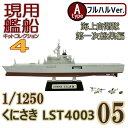 現用艦船キットコレクション4 05A くにさき LST4003 フルハルVer. エフトイズ 1/1250
