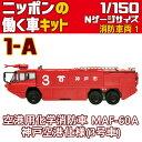 ニッポンの働く車キット 消防車両1 空港用化学消防車 MAF-60A 神戸空港仕様(3号車) エフト