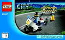レゴ シティ スポーツカーとポリスパトロールカー - 60007 説明書 3冊セット