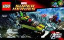 スーパー・ヒーローズ - 76017 キャプテン・アメリカ vs. ヒドラ 説明書 1冊