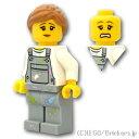 レゴ シティ ミニフィグ 塗装屋 女性 ( 60134 ) | lego フィギュア 人形 ミニフィギュア