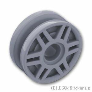 レゴ 車 パーツ ホイール 18 x 8 インナーリング [ Light Bluish Gray / グレー ] | lego 部品