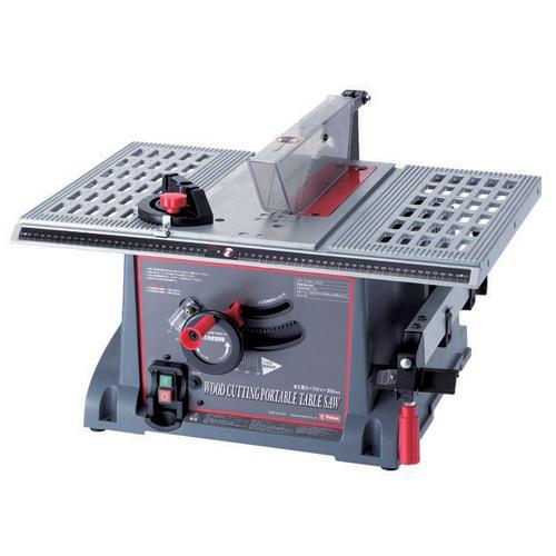 【送料無料】SK11 木工用テーブルソー255mm ETS-10KN
