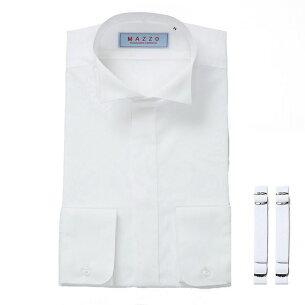 ウイングカラーシャツ アームバンドセット ショップ フォーマルシャツ