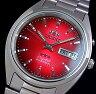 ORIENT【オリエント】メンズ腕時計 自動巻 レッドグラデーション文字盤 メタルベルト WV0651EM-2