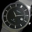 ORIENT【オリエント】スタンダードクォーツ メンズ腕時計 ブラック文字盤 メタルベルト MADE IN JAPAN 海外モデル SGW03004B0【送料無料】【02P09Jul16】