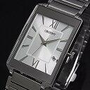 ORIENT【オリエント】スタンダード クォーツ メンズ腕時計 シルバー文字盤 メタルベルト Made in JAPAN SUNEF009W0
