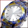 NIXON【ニクソン】TIME TELLER ACETATE/タイムテラー アセテート ユニセックス腕時計 ウォーターカラー【2012年SPRING新作】【送料無料】A327-1116(国内正規品)