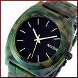 NIXON【ニクソン】TIME TELLER ACETATE/タイムテラー アセテート ユニセックス腕時計 マットブラック/カモ【2013年WINTER新作】【送料無料】A327-1428(国内正規品)