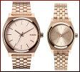 NIXON【ニクソン】TIME TELLER/タイムテラー ペアウォッチ 腕時計 ALL ROSE GOLD ローズゴールド文字盤 ローズゴールドメタルべルト【送料無料】A045-897/A399-897(国内正規品)