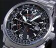 CITIZEN/PROMASTER Nighthawk【シチズン/プロマスター ナイトホーク】メンズ ソーラー腕時計 ブラック文字盤 メタルベルト BJ7010-59E(海外モデル)【P11Sep16】