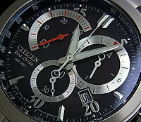 CITIZEN/Chronograph�ڥ�������/����Υ���աۥ�󥺥����顼�ӻ��ץ֥�å�ʸ���ץ᥿��٥��AT1007-51E(������ǥ�)