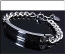 POLICE/accessory【ポリスアクセ】DETROIT プレート&チェーン ステンレスブレスレット【送料無料】25141BSS01(...