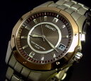 大人のエレガント時計SEIKO/セイコー【BRIGHTZ/ブライツ】ソーラー電波腕時計 チタン 腕時計 メンズ ブラウン文字盤 メタルベルト【送料無料】SAGZ037