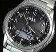 CASIO/Wave Ceptor【カシオ/ウェーブセプター】メンズ腕時計 ソーラー電波腕時計 チタンモデル ガンメタ文字盤 メタルベルト(国内正規品)WVA-M630TDE-1AJF【02P09Jul16】