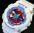 CASIO/Baby-G【カシオ/ベビーG】レディース腕時計 ホワイト(海外モデル)BA-112-7A【02P29Aug16】