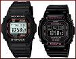 CASIO/G-SHOCK/Baby-G【カシオ/Gショック/ベビーG】ペアウォッチ ソーラー電波腕時計 ブラック(国内正規品)GW-M5610-1JF/BGD-5000-1JF