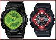 CASIO/G-SHOCK/Baby-G【カシオ/Gショック/ベビーG】ペアウォッチ アナデジ 腕時計 ブラック(国内正規品)GA-110B-1A3JF/BA-110SN-1AJF【02P09Jul16】