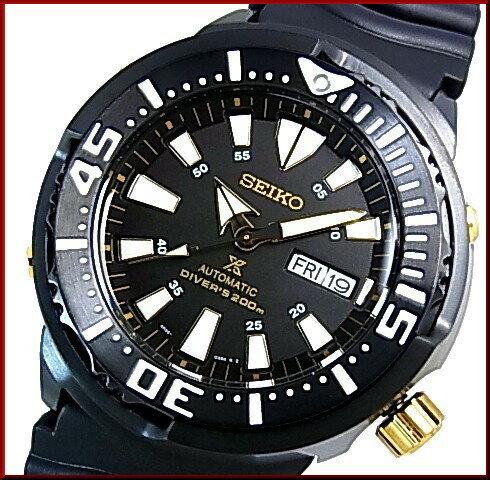 SEIKO/PROSPEX 200m diver's watch【セイコー/プロスペックス200m防水ダイバーズ】自動巻 メンズ腕時計 ラバーベルト ブラック文字盤 海外モデル SRP641K1 ◆3本限定◆スポーティな大人時計
