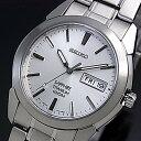 SEIKO/Quartz【セイコー/クォーツ】軽量チタンモデル メンズ腕時計 メタルベルト シルバー文字盤 SGG727P1 海外モデル【02P03Dec16】