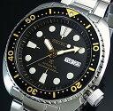 SEIKO/PROSPEX/200m diver's watch【セイコー/プロスペックス/200m防水ダイバーズ】自動巻 ブラックベゼル メンズ腕時計 メタルベルト ブラック文字盤 海外モデル SRP775K1