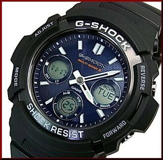 凱西歐 G-SHOCK 太陽射電手錶男裝黑色 / 海軍 (海外模型) 特設工作組-M100SB-2A