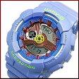 CASIO/Baby-G【カシオ/ベビーG】BA110シリーズ レディース腕時計 ライトブルー(国内正規品)BA-110CA-2AJF【P06May16】