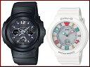 CASIO/G-SHOCK/Baby-G【カシオ/Gショック/ベビーG】ペアウォッチ ソーラー電波腕時計 ブラック/ホワイト AWG-M510-1BJF/BGA...
