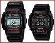 CASIO/G-SHOCK/Baby-G【カシオ/Gショック/ベビーG】ペアウォッチ ソーラー電波腕時計 ブラック GWX-5600-1JF/BGD-5000-1JF(国内正規品)【P20Aug16】