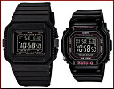 CASIO/G-SHOCK/Baby-G【カシオ/Gショック/ベビーG】ペアウォッチ ソーラー電波腕時計 ブラック(国内正規品)GW-5510-1BJF/BGD-5000-1JF