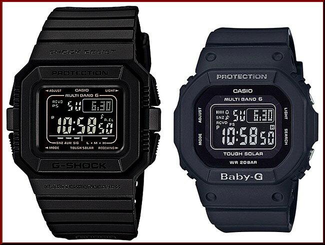CASIO/G-SHOCK/Baby-G【カシオ/Gショック/ベビーG】ペアウォッチ ソーラー電波腕時計 ブラック(国内正規品)GW-5510-1BJF/BGD-5000MD-1JF【02P01Oct16】