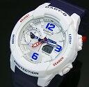 CASIO/Baby-G【カシオ/ベビーG】レディース腕時計 ホワイト/ネイビー(国内正規品)BGA-230SC-7BJF