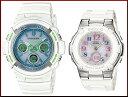 CASIO/G-SHOCK/Baby-G【カシオ/Gショック/ベビーG】ペアウォッチ ソーラー電波腕時計 ホワイト(国内正規品)AWG-M100SWG-7AJF/BGA-1100G..